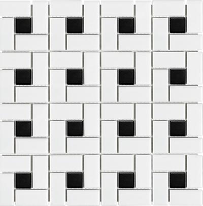 51-085_soho_white_matte_wblack_dot_pinwheel_porcelain_mosaics_l