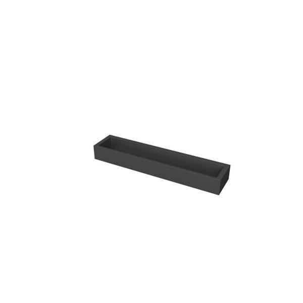 matte black towel bar