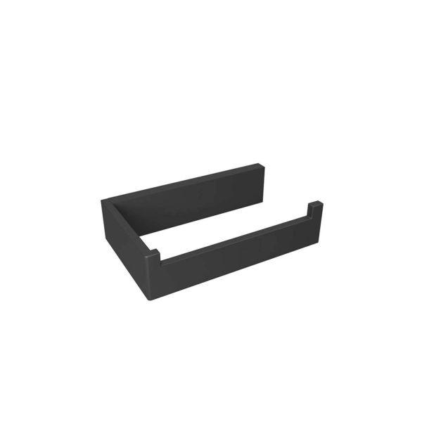 matte black toile paper holder