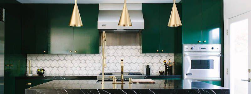 Faites place à la couleur dans votre cuisine